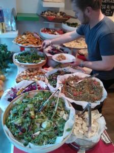 Das Büffet im Foodilic