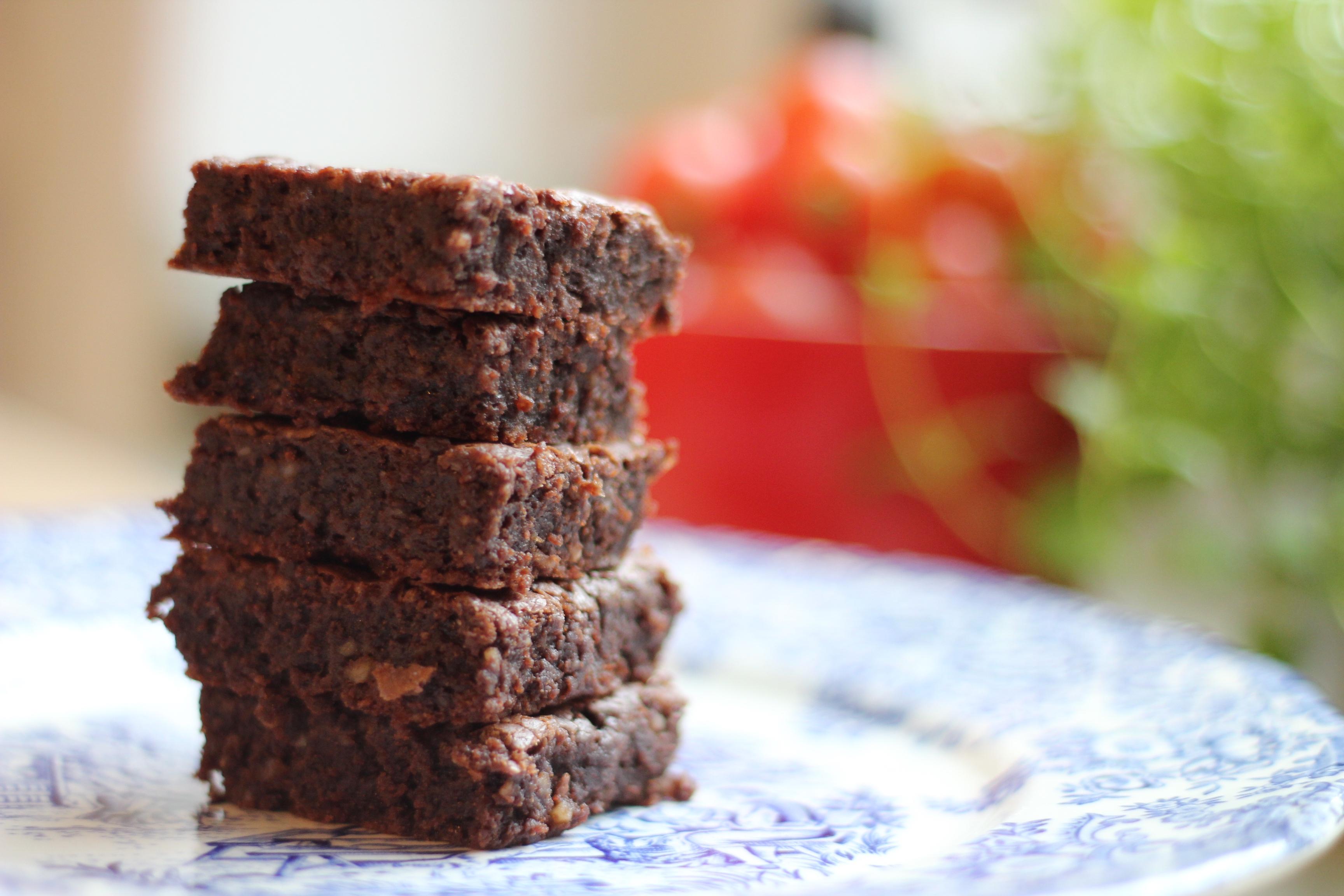 Saftiger Nutella-Brownie zum Frühstück
