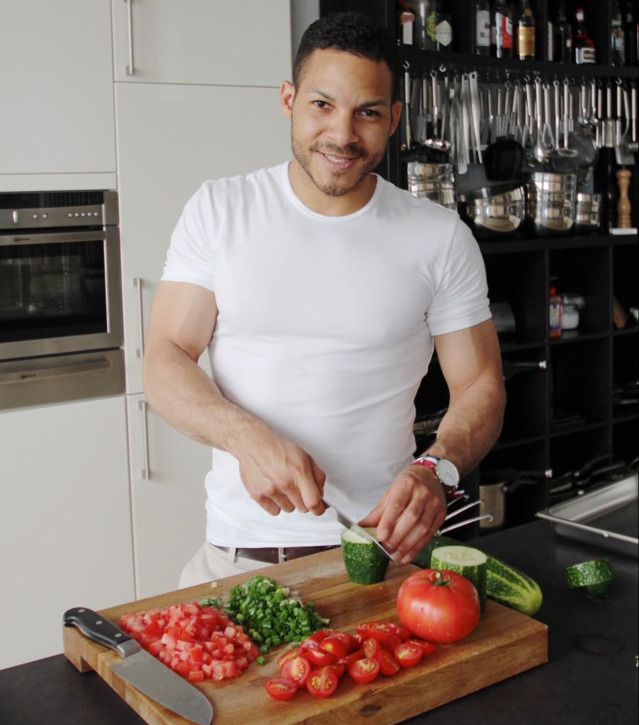 Alexander Fasanya ist Kochdozent in der Kochschule Braunschweig