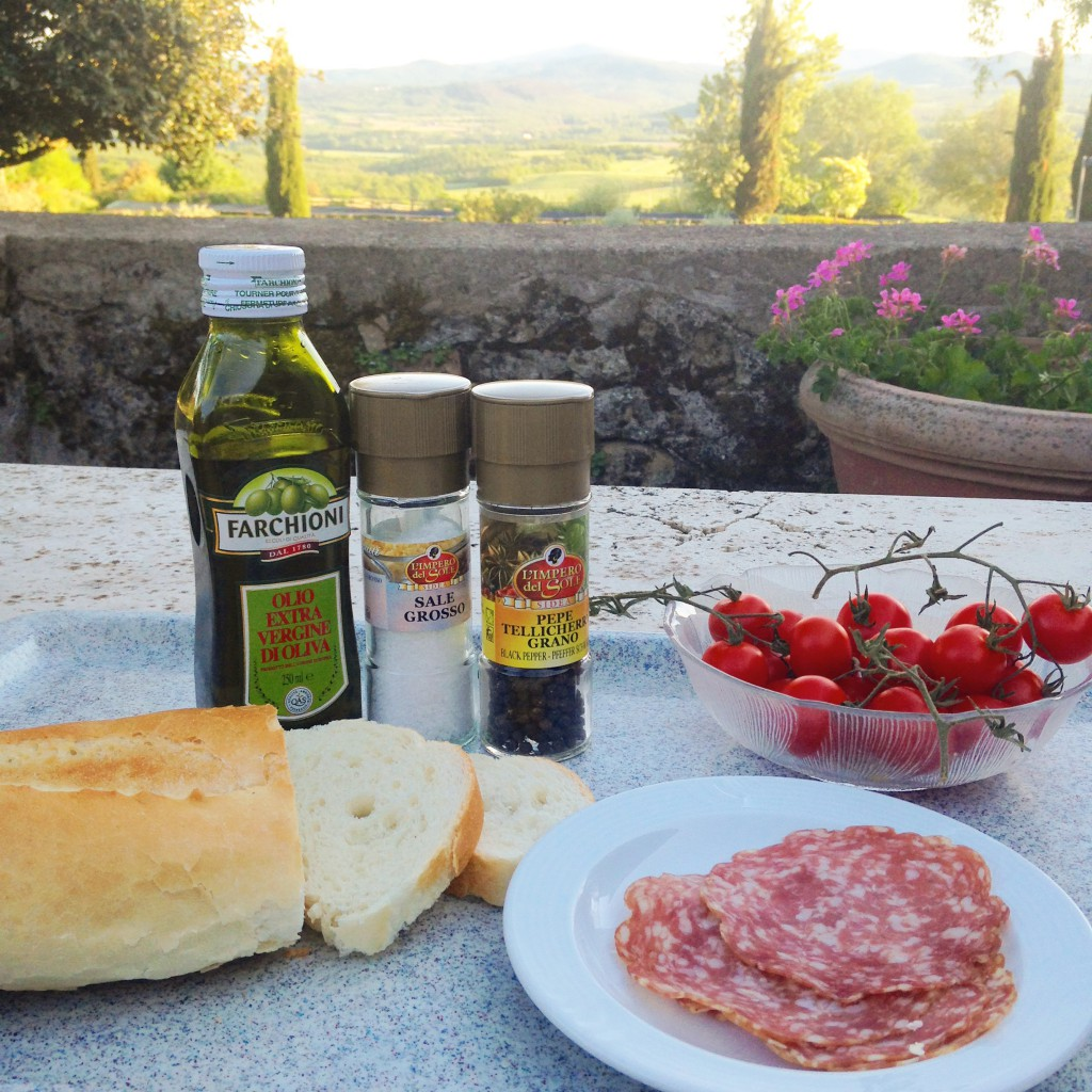 Abendbrot in Pentolina