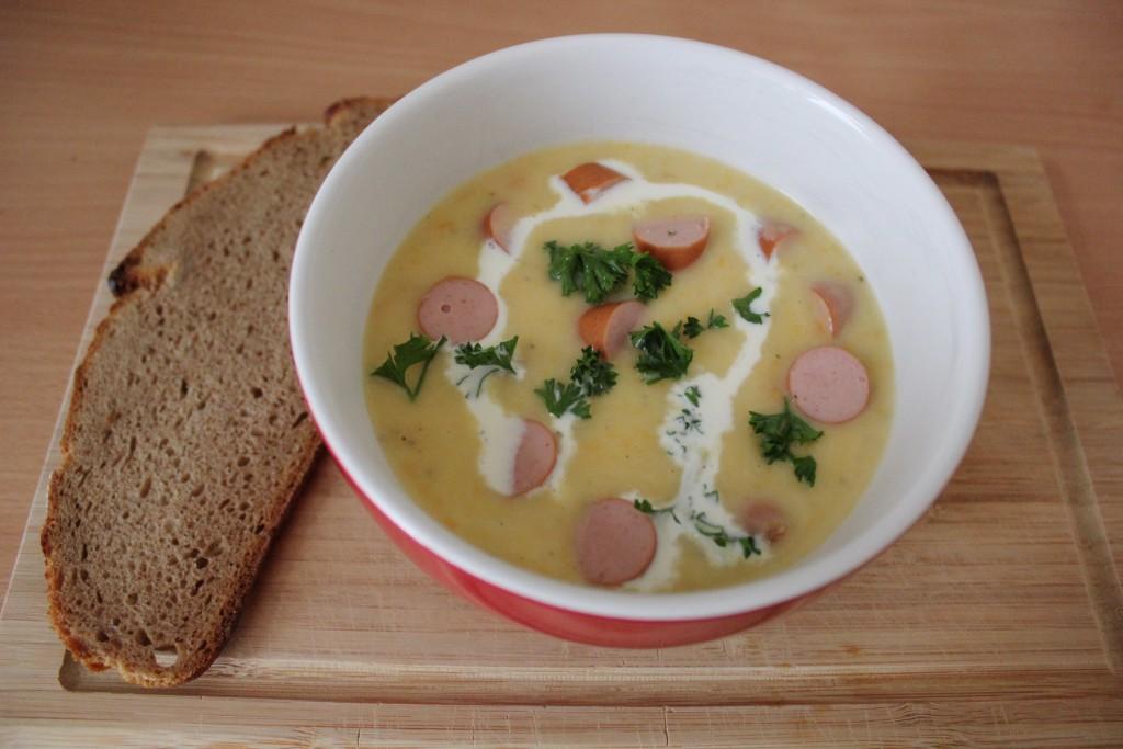 Eine Suppe für Bauch und Seele.