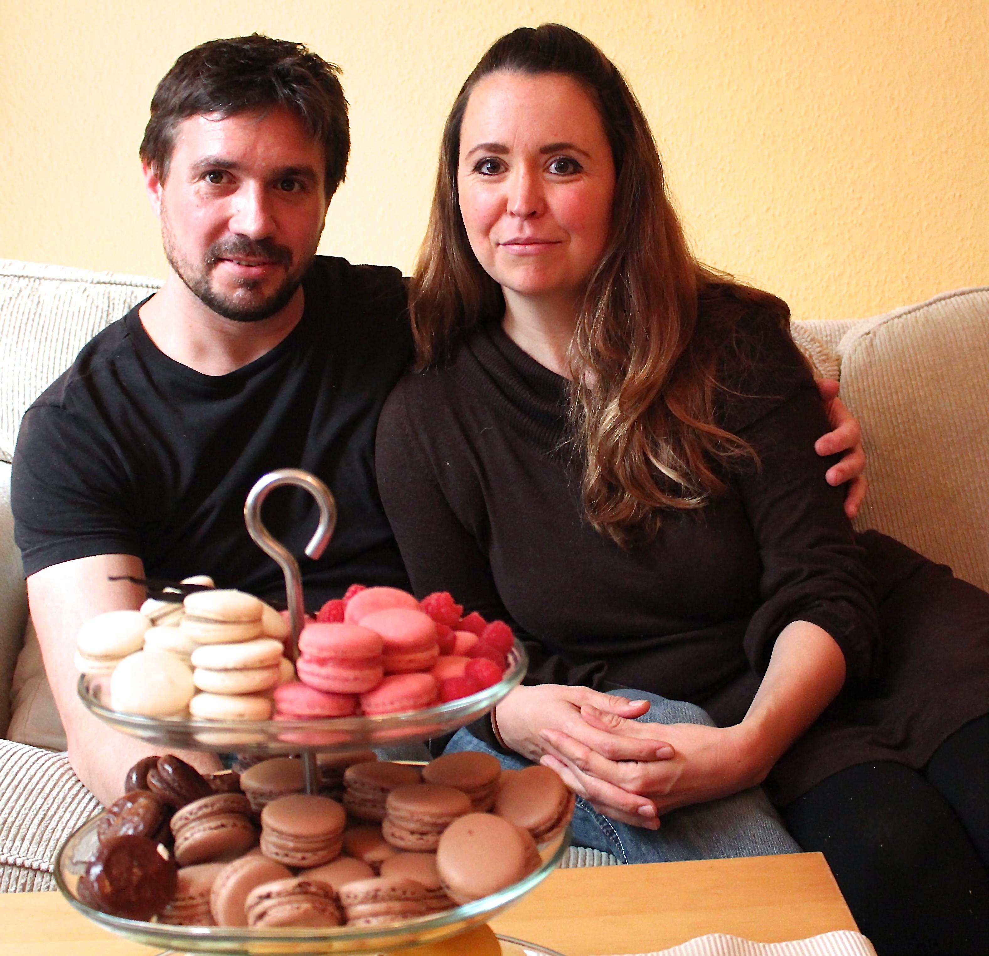 """Jennifer und Sebastian Wirth stecken hinter """"Bon Macaron""""."""